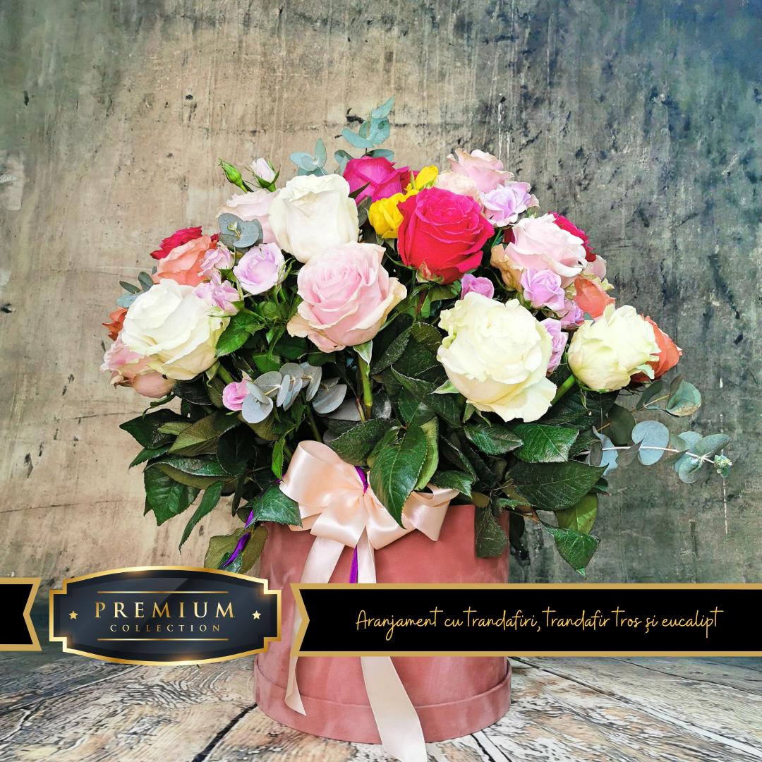 aranjament floral floraria Flori in Dar Roman